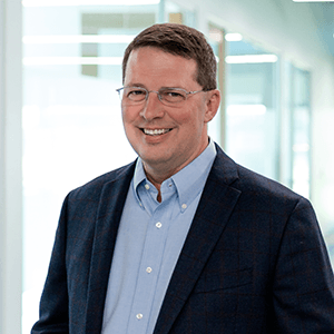 Headshot of Allen Johnson, Chief Product Officer.