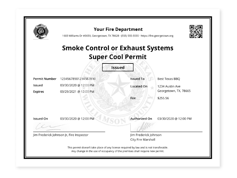 Permit certificate as an ESO feature.