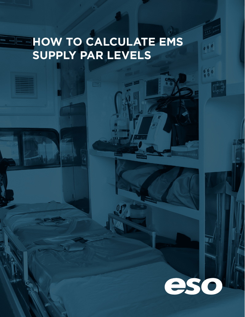 Cover of How to Calculate EMS Supply Par Levels white paper.